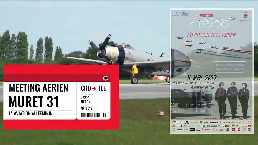 Meeting aérien Muret 2019 #aviation #meeting #aviation militaire #femmespilotes  #tvlocale.fr