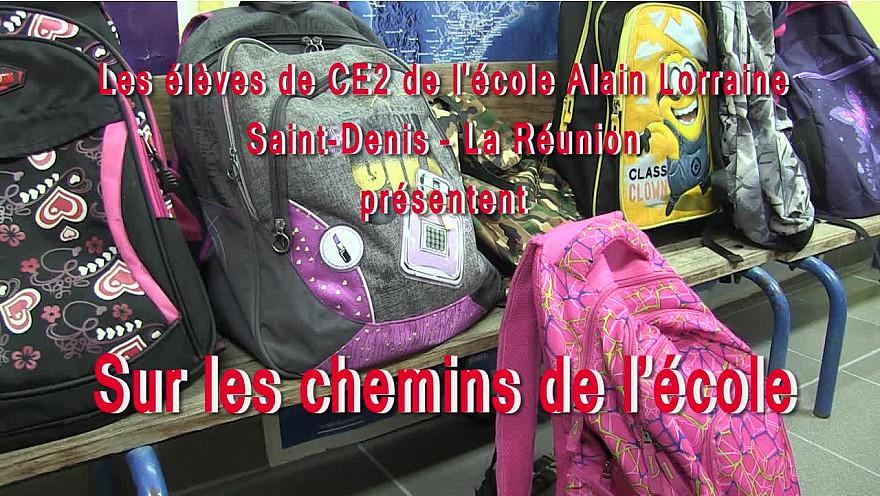 Atelier Web Reporter CINOR - Les chemins de l'école – CE2 Alain Lorraine