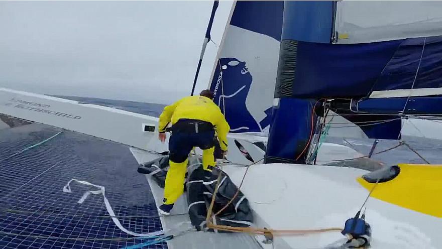 BREST ATLANTIQUES 2019 : images de bord de cette 11ème journée de course @Batlantiques @GitanaTeam @trimaranMACIF @Sodebo_Voile @TeamActualeader