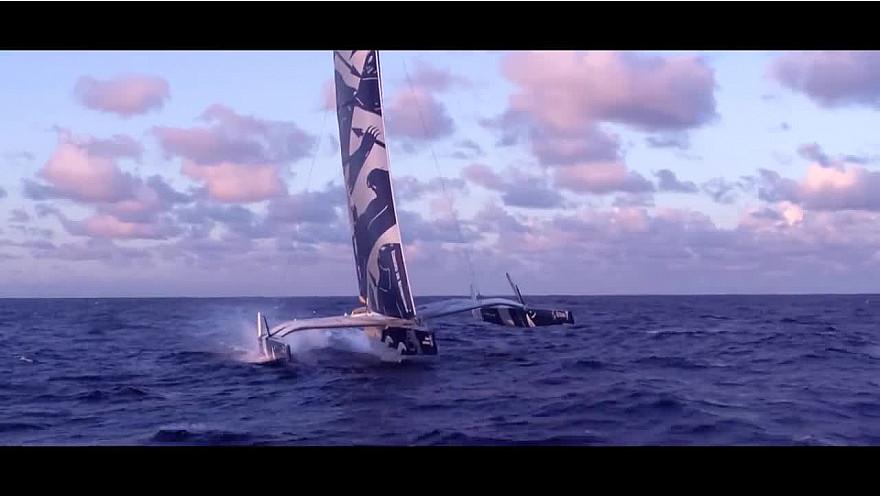 Route du Rhum 2018: les Ultimes mais aussi les monocoques ...des bateaux volants @routedurhum