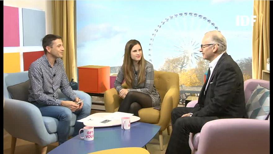Talion Aiguille sur IDF1 le 18 octobre 2018 avec Isabelle et Olivier dans l'émission