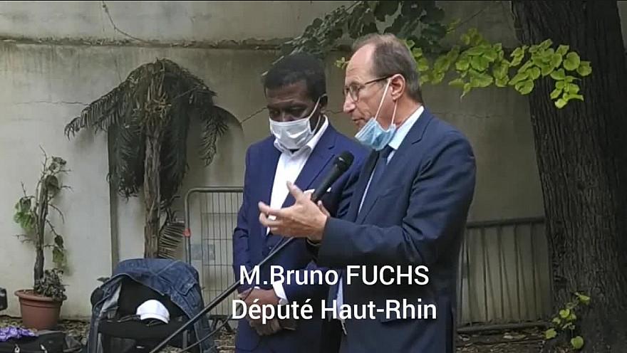 Commémoration du massacre du 28 Septembre 2009 à l'ambassade de la République de Guinée en France !!