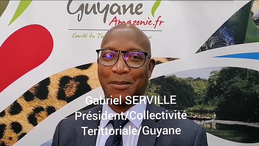Gabriel SERVILLE Président de la collectivité territoriale de Guyane: lancement du télescope James WEBB de 12 milliards d'euros le 18 décembre 2021 à Kourou (Guyane) !